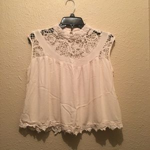 Cato babydoll lace Victorian top